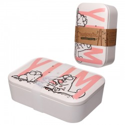 Bamboo Eco Friendly Simon's Cat Design Lunch Box