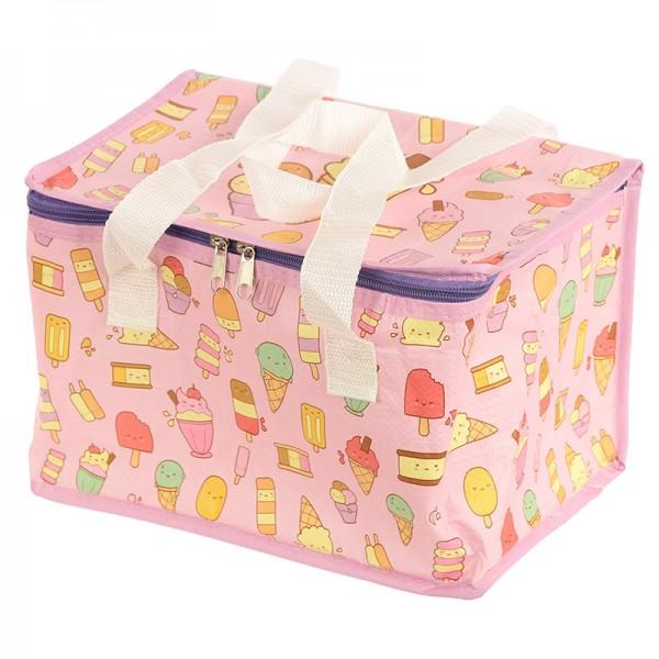 Kawaii Ice Cream Design Lunch Box Cool Bag