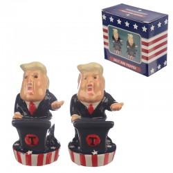 Novelty President Salt and Pepper Set
